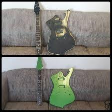 Job Asheville Chromalusion Chameleon Paint Custom Painted Guitar Mills River