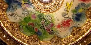 les secrets du plafond chagall à l opéra garnier