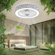 40w deckenventilator mit licht fan deckenleuchte dimmbar deckenventilator mit beleuchtung und fernbedienung leise für wohnzimmer schlafzimmer