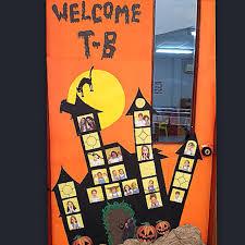 Halloween Classroom Door Decorations by Halloween Haunted House Classroom Door Halloween Inside The