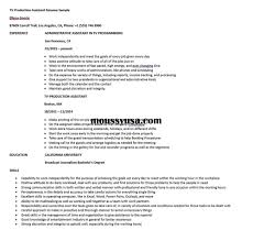TV Production Assistant Resume Sample | Resume Builder Virtual Assistant Resume Sample Most Useful Best 25 Free Administrative Assistant Template Executive To Ceo Awesome Leading Professional Store Cover Unforgettable Examples Busradio Samples New And Templates Visualcv 10 Administrative Resume 2015 1