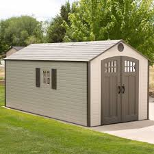 Shed Anchor Kit Instructions by 8 X 17 5 Ft Outdoor Storage Shed 2 Windows
