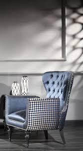 casa padrino luxus barock wohnzimmer sessel blau weiß schwarz silber 80 x 80 x h 105 cm barockstil möbel