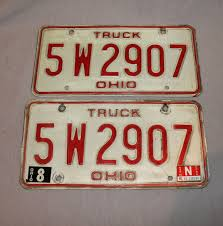 1970s Ohio Truck Plates | Etsy Manitoba 1983 Natural Truck Plates Pair Natu Flickr Confederate Flag License Plates More Popular In Tennessee Time An Old Rusted Truck With California License Plates Stock Photo 1953 Gmc 2ton Flatbed Original Yellow Clear Ets2 Custom Name Youtube Group Special Department Of Revenue Motor Vehicle Filenew Jersey 1958 Farm License Plate Woody1778a Home 1968 Texas Truck Pair 1x5842 Nos Unissued Untitled Registration Plate Wikipedia