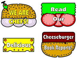 Cheese Burger Book Reports Projects Templates And Printable Worksheets