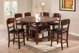 Round Table Dining Room Sets Placid Cove White Painted Wooden Modern Glass Top Design For Small Spaces Desing Ideas