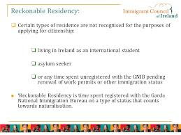 bureau des naturalisations applying for citizenship in ireland by naturalisation