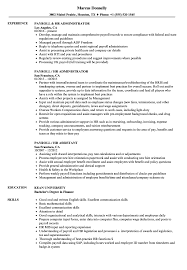 Payroll / HR Resume Samples | Velvet Jobs