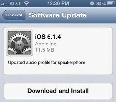 Apple releases iOS 6 1 4 for iPhone 5 with updated audio profile