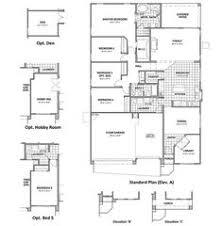 Ryland Homes Floor Plans Arizona by Ryland Homes The Overlook Plan Candelas Floorplans Pinterest