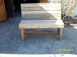 How To Make A Bench Out Pallets Pallet Bench Plans Garden