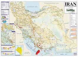 Iran Natural Gas Map