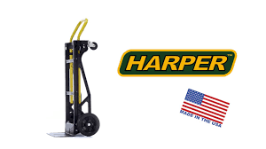 Harper 400lb Nylon Convertible Hand Truck - YouTube