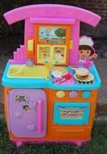 Dora The Explorer Talking Kitchen Set by Dora Fiesta Kitchen Ebay