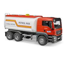 Man TGS Tanker Truck Red - Vehicle Toy By Bruder Trucks (03775 ...
