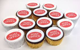 Logo Cupcakes For The Post Office Caketopperscouk