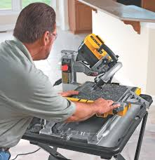 Tile Saw Water Pump Not Working by Detailed Review Of The Dewalt D24000 Wet Tile Saw