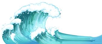Wave clipart transparent background Pencil and in color wave clipart transparent background