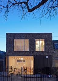 100 Mews House Design SAM Architects Uses Brick And Charred Wood For London House