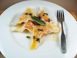 Pumpkin Gnocchi Recipe With Sage Butter by Sweet Potato Ravioli With Lemon Sage Brown Butter Sauce
