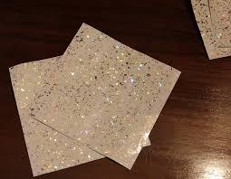 20 stück weißer funkelnder holografischer brokat silber chrom spiegel glitzer fliesenaufkleber für küche und bad wandfliese aufkleber für 15x15cm
