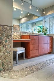 best 25 river rock tile ideas on pinterest river rock bathroom