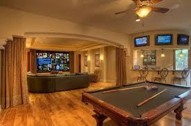 wohnideen für luxus wohnzimmer und spielraum im keller