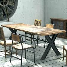 Distressed Dining Table Modern Tables Dinette Furniture Wood And Chairs Room Set