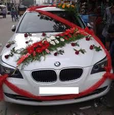 décoration de voiture pas cher pour mariage