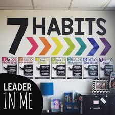 7 Habits Amy Groesbeck Leader in Me Pinterest
