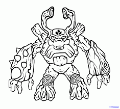 Printable Coloring Pages Skylanders File Name Resolution 820x1060 Ratio 1722 Size 141 KB