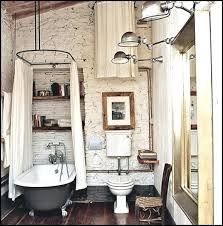 Industrial Bathroom Decor Lovely Designs Vintage Charm Chic