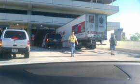 Airport Parking Garage Blocked After Semi Gets Stuck | Fox13now.com 31 Most Funny Truck Photos And Images Bangshiftcom More Wintertime Fun Semitruck Donuts In The Snow This Cake Has A Semi Pictures Lol Tribe Pia Virginia Fortmller All The Things To Be Thankful For In October Spotted This Truck At Home Depoti Dont Even Know Where Begin Dogs Behind Wheel Of Large Automobile Semi Shockwave Custom Quotes Funny Fattie Wisdom Complete Trailer Hitch Accsories