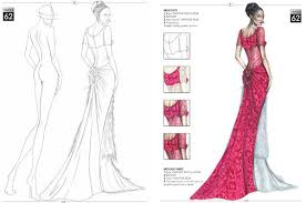 Fashion Sketch Design Drawing