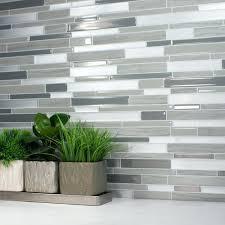 tiles gray subway tile kitchen backsplash white subway tile