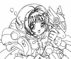 Online Coloring Pages Anime 87 For Line Drawings With