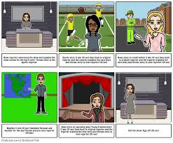 Broadcast Journalism 1 Storyboard By Delaney713