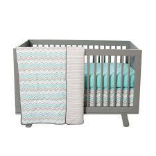 Seashore Waves 3 Piece Crib Bedding Set Trend Lab