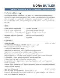 Best Airport Manager Resumes