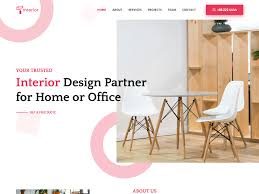 100 Home Interior Website Free Design Template By UIdeck