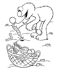 Elmo Coloring Pages For Kids