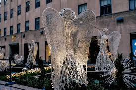 Rockefeller Plaza Christmas Tree Cam by New York City A Christmas Cliche Dreamtime Traveler