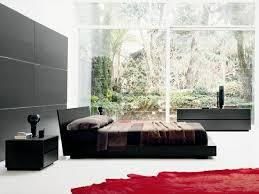 schwarzes wandpaneel im schlafzimmer schlafzimmer ideen