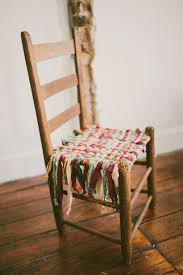 DIY: How To Weave A Chair Seat - Excellent Tutorial Shows ...