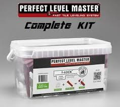 t lock level master kit tile leveling system wall