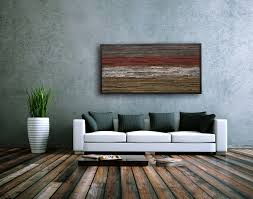 Modern Rustic Wall Decor Prepossessing Ideas Living Room