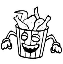 600x612 Junk Food Coloring Pages Many Interesting Cliparts