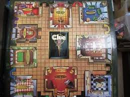 Image Is Loading 1998 GAME BOARD From The Clue Board Game