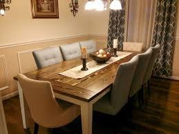 Elegant Solid Oak Dining Table And 8 Chairs Awesome Seat Room Person