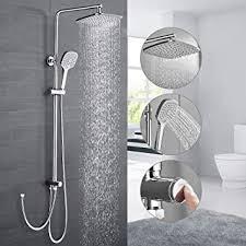 duschsystem ohne armatur woohse duscharmatur regendusche